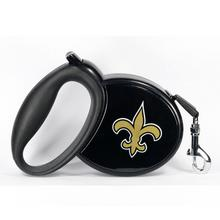 New Orleans Saints Retractable Dog Leash
