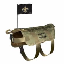 New Orleans Saints Tactical Vest Dog Harness