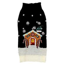 New York Dog® Dog Sweater - Gingerbread House