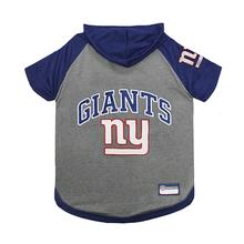 New York Giants Hooded Dog T-Shirt