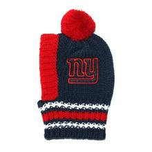 New York Giants Knit Dog Hat
