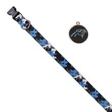 Carolina Panthers Team Camo Dog Collar and Tag by Yellow Dog