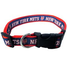 New York Mets Officially Licensed Ribbon Dog Collar