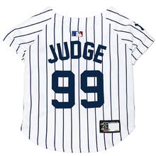 New York Yankee Aaron Judge Dog Jersey - Pinstripe