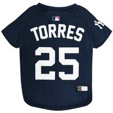 New York Yankees Gleyber Torres Dog T-Shirt - Blue