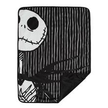 Nightmare Before Christmas Dog Blanket - Jack Stripe