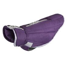 Nimbus Puffer Dog Coat - Plum Purple and Grey