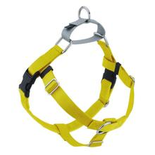 No-Pull Dog Harness Deluxe Training Package - Yellow and Silver