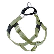 No-Pull Dog Harness Deluxe Training Package - Tan and Black