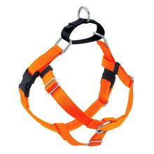 No-Pull Dog Harness Deluxe Training Package - Neon Orange and Black