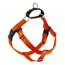 No-Pull Dog Harness Deluxe Training Package - Rust and Brown