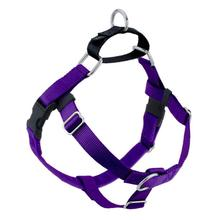 No-Pull Dog Harness Deluxe Training Package - Purple and Black
