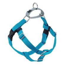 No-Pull Dog Harness Deluxe Training Package - Turquoise and Silver