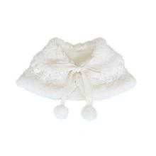 Nora Dog Capelet - Cream