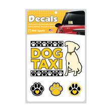 Dog Taxi Car Window Decal by Dog Speak