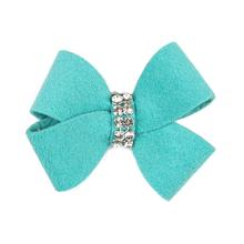 Nouveau Bow Dog Hair Bow by Susan Lanci - Bimini Blue