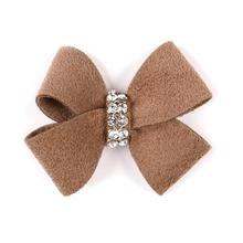 Nouveau Bow Dog Hair Bow by Susan Lanci - Fawn