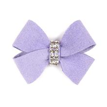 Nouveau Bow Dog Hair Bow by Susan Lanci - French Lavender
