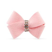 Nouveau Bow Dog Hair Bow by Susan Lanci - Puppy Pink