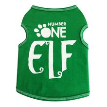 Number One Elf Dog Tank Top - Green