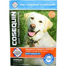 Cosequin®️ Maximum Strength With MSM Plus Omega-3s Dog Soft Chews by Nutramax®️