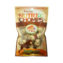 Nutri Chomps Wrapped Knot Dog Treats - Chicken