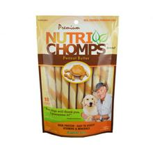 Nutri Chomps Twists Dog Treats - Peanut Butter