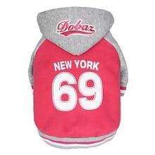 NY Dog Hoodie by Dobaz - Pink