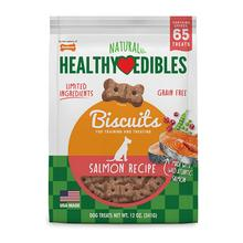 Nylabone Healthy Edibles Biscuits Grain Free Dog Treats - Salmon