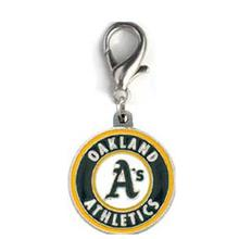 Oakland Athletics Logo Dog Collar Charm