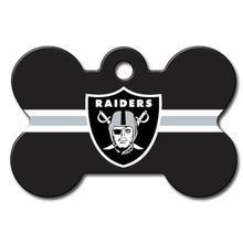 Las Vegas Raiders Engravable Pet I.D. Tag - Bone