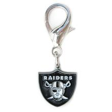 Oakland Raiders Logo Dog Collar Charm