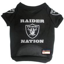Oakland Raiders Slogan Dog Jersey - Raider Nation