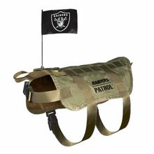 Oakland Raiders Tactical Vest Dog Harness