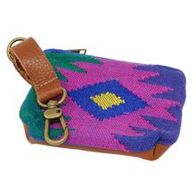 Oaxaca Sunburst Pooch Accessory Pouch by Salvage Maria - Magenta