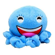 Octopus Squeaky Dog Toy - Blue