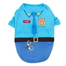Officer Woof Police Dog Costume Shirt