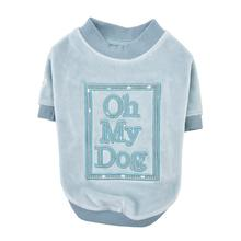 Oh My Dog Dog Shirt By Pinkaholic - Blue
