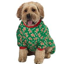 Oh Snap! Gingerbread Dog Pajamas - Green