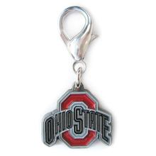 Ohio State Dog Collar Charm