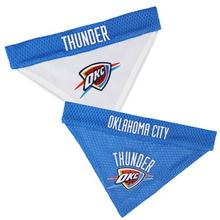 Oklahoma City Thunder Reversible Dog Bandana Collar Slider