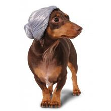 Old Lady Wig Dog Costume