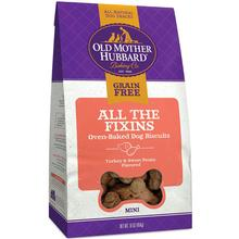Old Mother Hubbard Mini All the Fixins Grain-Free Biscuits Baked Dog Treats