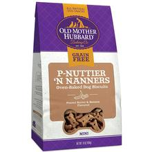 Old Mother Hubbard Mini P-Nuttier 'N Nanners Grain-Free Biscuits Baked Dog Treats