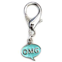 OMG! Dog Collar Charm - Blue