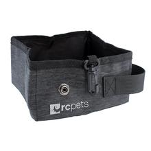 On the Go Dog Travel Bowl by RC Pets - Heather Black