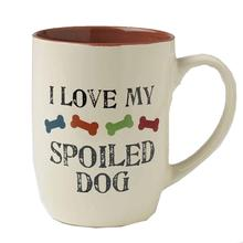 I Love My Spoiled Dog Mug