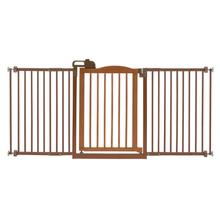 One-Touch Dog Gate II Wide - Autumn Matte