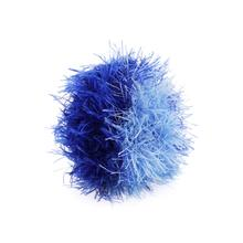 OoMaLoo Handmade Ball Dog Toy - 2 Tone Blue