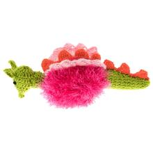 OoMaLoo Handmade Dragon Dog Toy - Pink